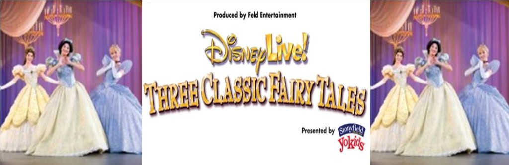Disney Live Three Classic Fairy Tales 2015
