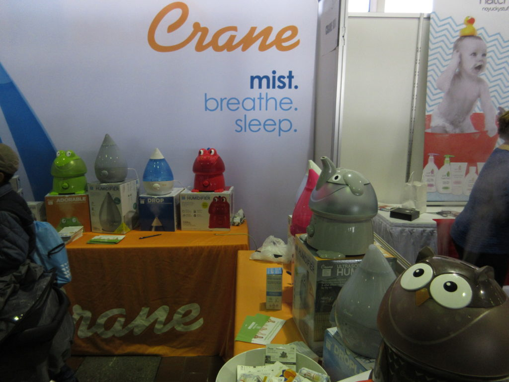 crane humidifiers, inbliss01, new york baby show,